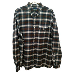 Ralph Lauren Soft Classic Flannel Button Down - XL
